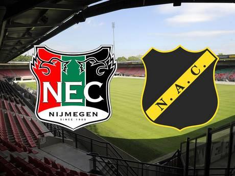 Wedkantoren: NEC de favoriet tegen NAC