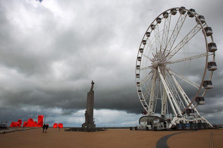 Een soortgelijk reuzenrad stond in 2013 in Oostende.
