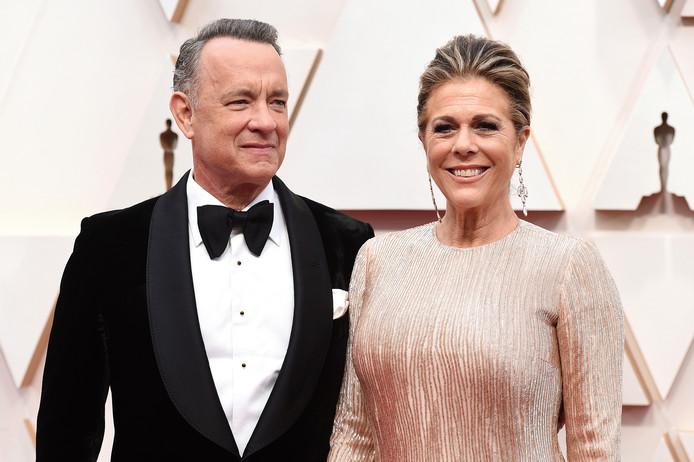 Tom Hanks et son épouse, Rita Wilson.
