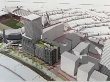 93 meter hoge woontoren in Eindhoven geeft zicht op PSV-thuiswedstrijden