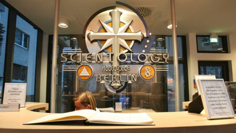 De Scientology-kerk in Berlijn. (AFP) Beeld AFP