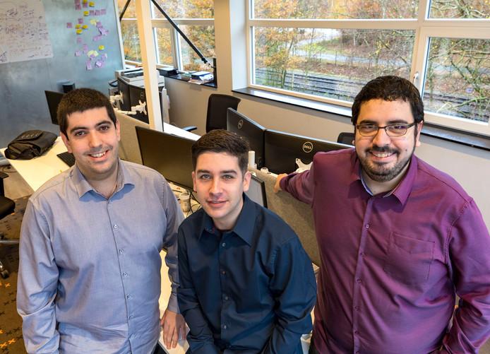 Saul Perez (27, rechts), Antonio Rodriguez (midden) en Miguel Pereira (30, links)