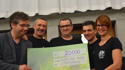 Merkemse vrienden verdelen bijna 40.000 euro onder goede doelen die zich inzetten voor de jeugd