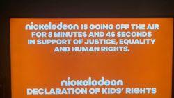 Straf statement: Nickelodeon en MTV laten  ademgeluiden horen om George Floyd te eren