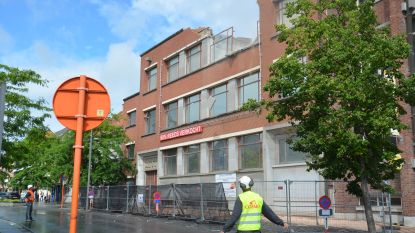 Afbraak voormalig RTT-gebouw gestart