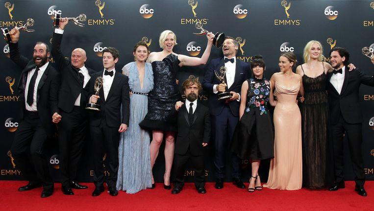 De cast van Game of Thrones Beeld EPA