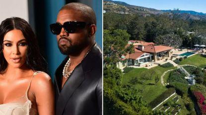 BINNENKIJKEN. In deze chique villa proberen Kim Kardashian en Kanye West hun relatie te redden