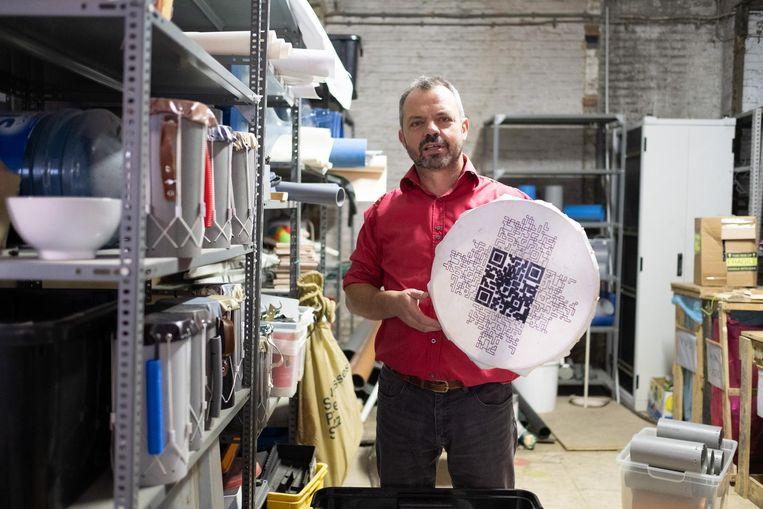 Jos Maes geeft industrieel afval een tweede leven in De Potterij.