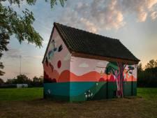 Heavenleigh Jeroense maakt tweede 'Blind Wall' voor De Rith: 'Het Liesbos was mijn inspiratie'
