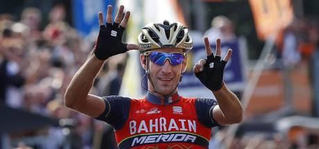 Nibali wint opnieuw de gouden lelie