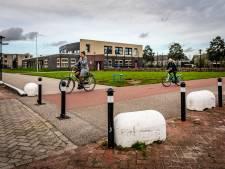 Gevaarlijke paaltjes op fietspad Hardinxveld 'aangepast'