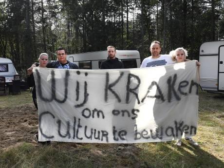 Bewoners woonwagens opnieuw gearresteerd, 'We kunnen nergens meer heen'