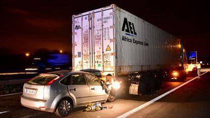 File op de E17 na ongeval net over de Franse grens