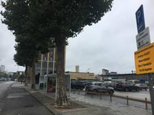 Alleen het bushokje ontbreekt nog bij de (inter)nationale bushalte in Eindhoven