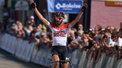 Dubbelslag voor Lotto-Soudal: Vanendert primus in Ardennenrit van Baloise Belgium Tour, Keukeleire nieuwe leider