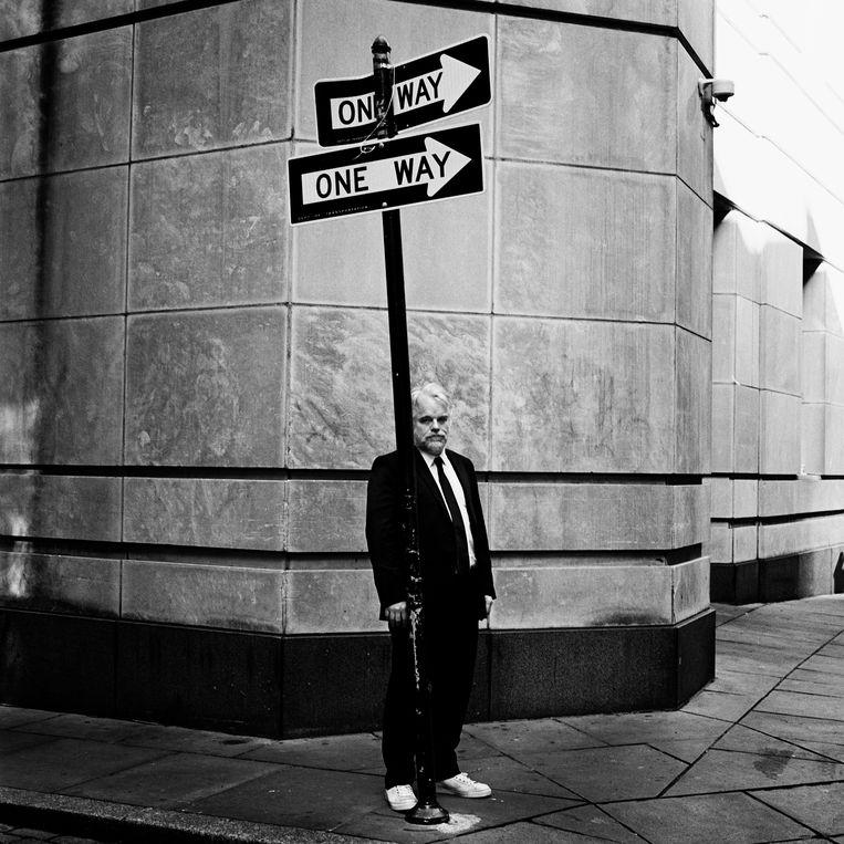 Philip Saymour Hoffman, New York 2011.   Beeld Anton Corbijn