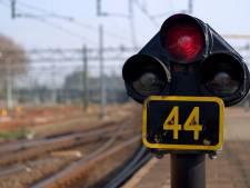 Treinverkeer tussen Breda en Tilburg weer opgepakt na aanrijding op spoor