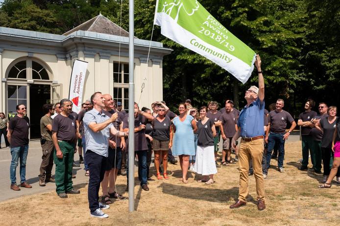 Het Rivierenhof kreeg de erkenning vorig jaar als eerste Belgische park.