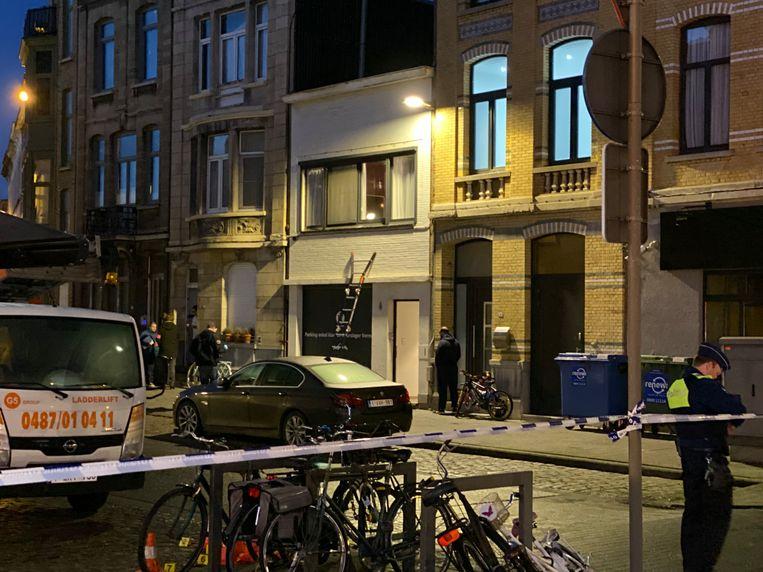 Ook in de Van Steenlandstraat is er op een woning geschoten.