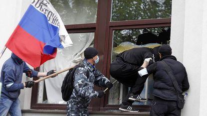 Separatisten dringen stadhuis Loehansk binnen