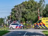 Fietser overleden na aanrijding met trein in Heukelom