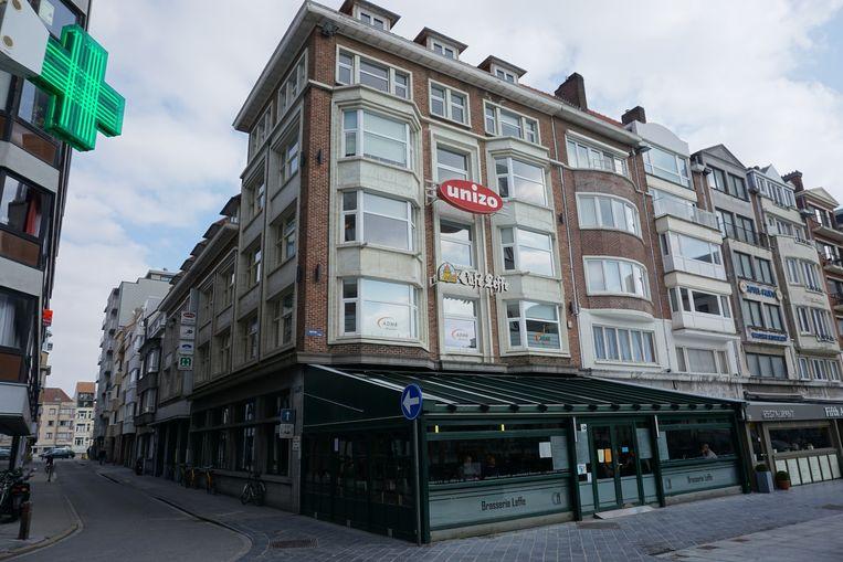 Het gebouw waar Unizo en Leffe Café huizen, ruimt plaats voor een nieuwbouw.