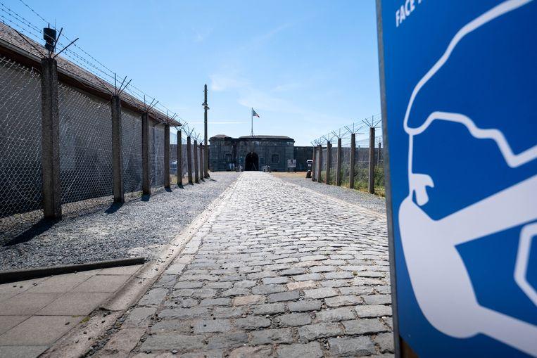 Het Fort van Breendonk in Willebroek heropent na de lockdown.