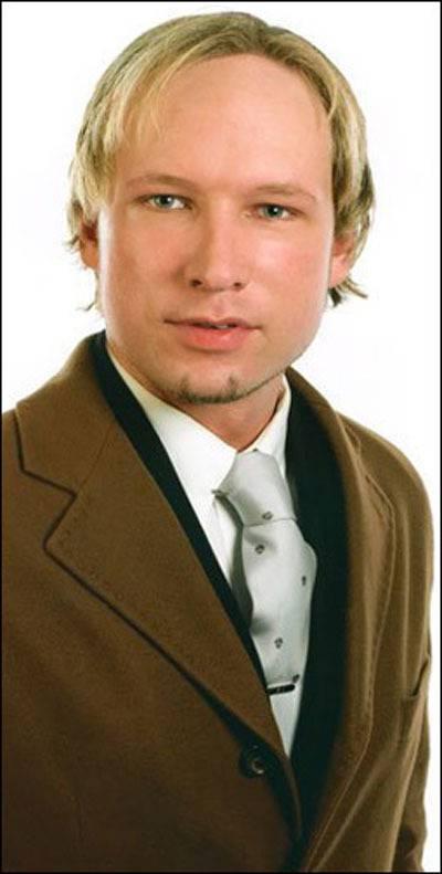 De verdachte schutter, de 32-jarige Anders Behring Breivik.