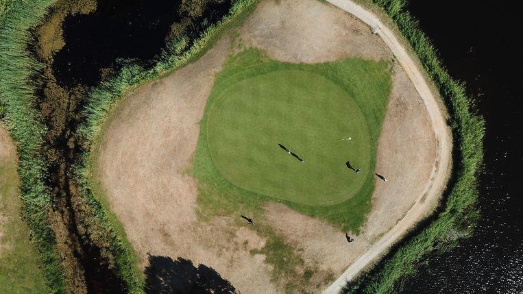 Golfbaan in Naarderbos. Beeld Frank Maters