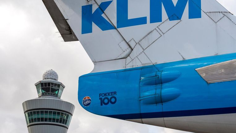 FNV had KLM een ultimatum gesteld. Beeld anp