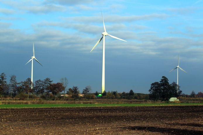 Windmolens in Staphorst. Archieffoto