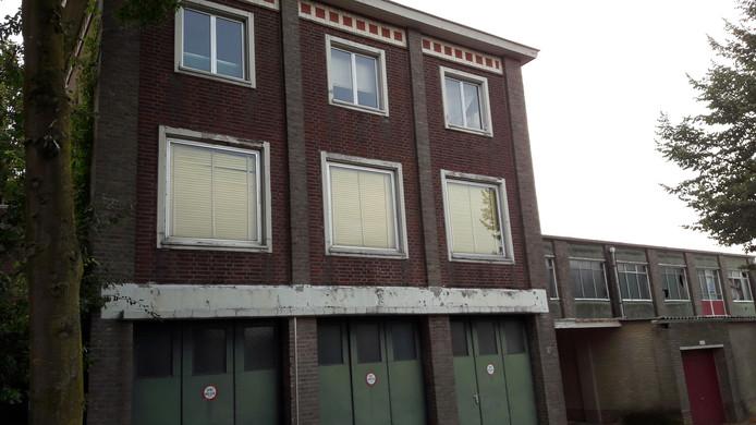 Oude kartonnagefabriek aan de kant van de Rode Brugstraat.