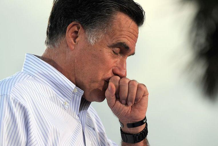 Mitt Romney. Beeld afp