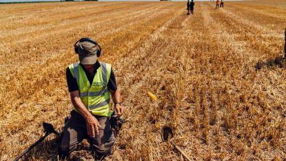 Britse veteranen doen mee aan opgravingen in Waterloo om eigen oorlogswonden te helen