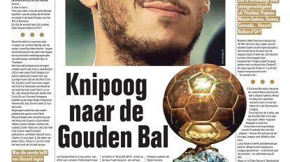'Spektakel Hazard' Knipoog naar de Gouden Bal