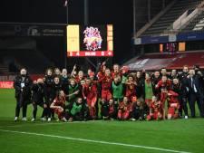 Les Red Flames écrasent la Suisse et se qualifient pour l'Euro 2022