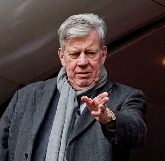 Voormalig minister Ivo Opstelten. Onder zijn bewind zouden ook onderzoeken zijn 'bijgestuurd'.