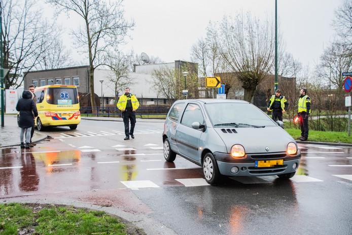 Het ongeluk van vanmorgen op de kruising Voltaweg – Waardsedijk.