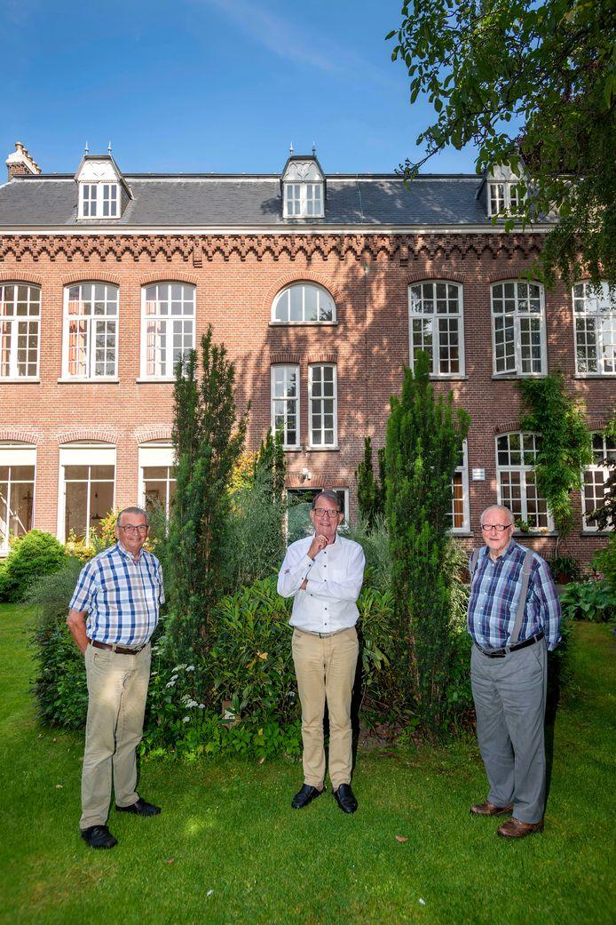 De laatste fraters: Kees Mateijsen, Ad de Kok en Rinus van Romme (v.l.n.r.).