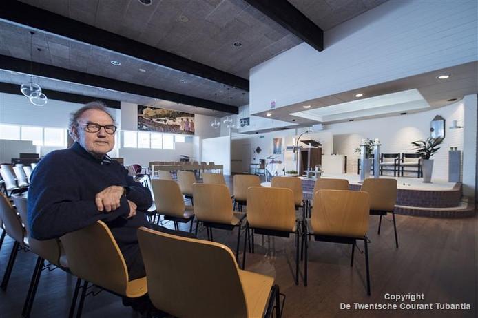 Henk Köiter zou graag zien dat de Emmauskerk wordt omgebouwd tot een ontmoetingscentrum voor inwoners van De Thij.
