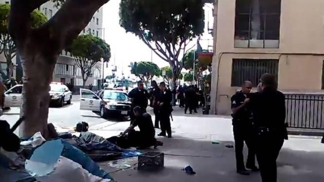 Politie schiet dakloze man dood op straat in Los Angeles