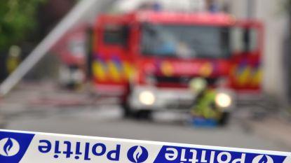 Mogelijk brandstichting in leegstaand gebouw