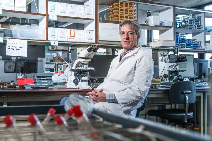 Professor klinische biologie Herman Goossens (UA).