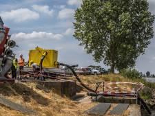 Pomp in inlaatgemaal Herpt snel vervangen, zodat agrariërs kunnen beregenen