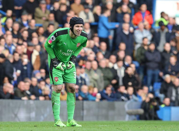 Petr Cech bij Arsenal.