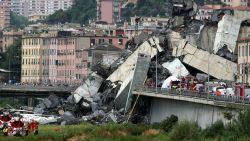 LIVESTREAM. Minstens 35 doden na instorting brug Genua - Professor wees twee jaar geleden al op constructiefouten