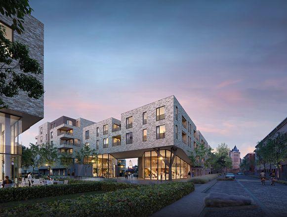 Project Handbogenhof ligt vlak bij de Lierse Vesten en de Grote Markt.