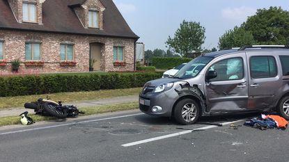Motorrijder (51) zwaargewond