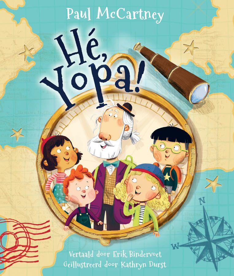 Paul McCartney: Hé, Yopa! Uit het Engels vertaald door Erik Bindervoet. Rubinstein; € 14,99. Vanaf 4 jaar. Beeld null