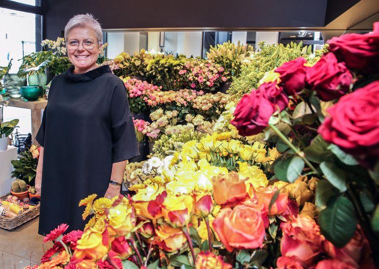 Unizo-voorzitter Gudrun Bekaert, van Descaplant op Overleie